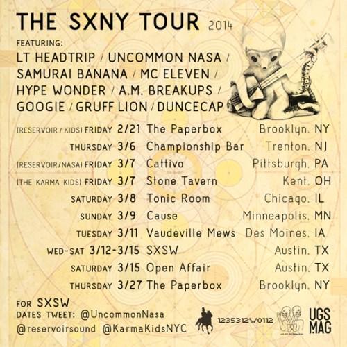 SXNY Tour