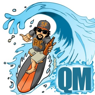 QM & Ben Waid - I Shoulda Been A Surfer