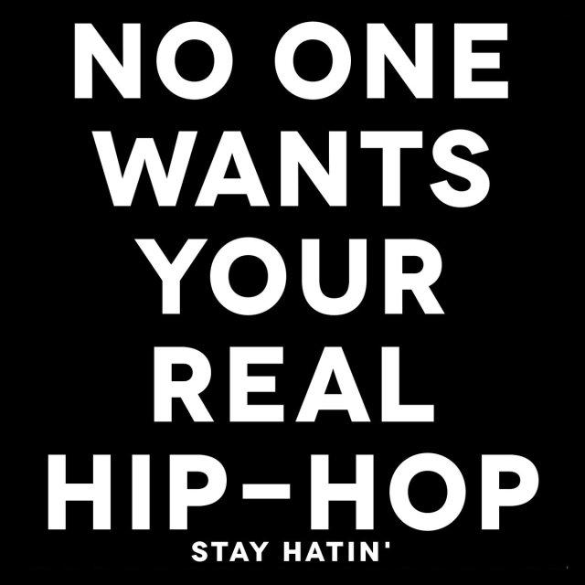 Stay Hatin'