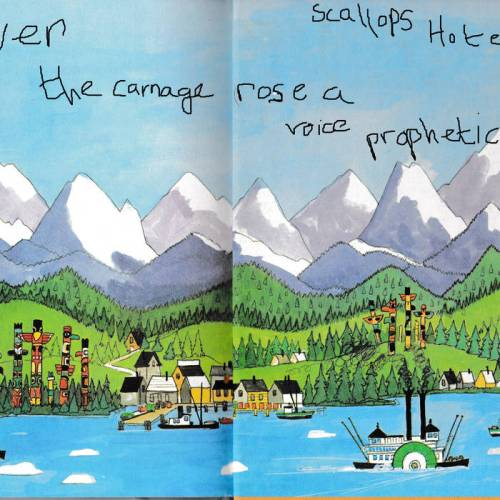 Scallops Hotel (aka Milo) - Over the Carnage Rose a Voice Prophetic