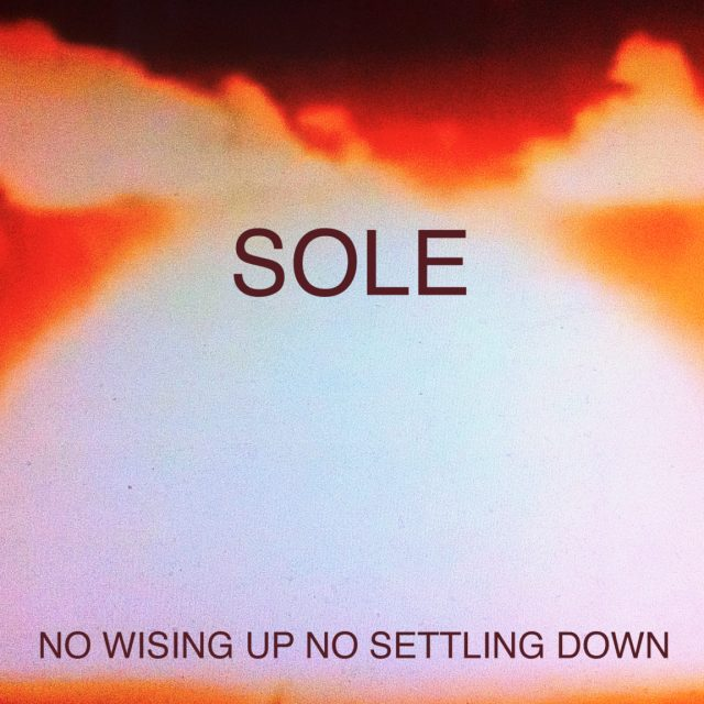 Sole - No Wising Up No Settling Down