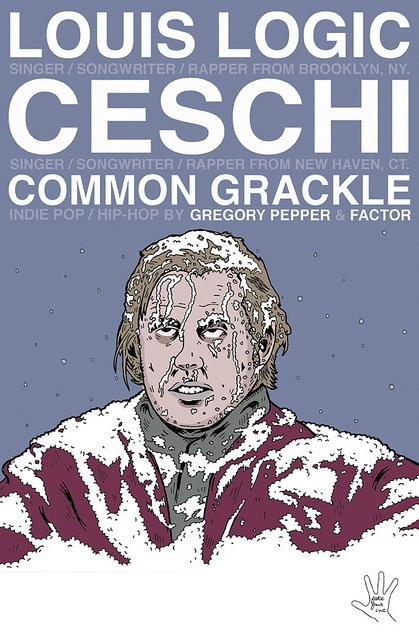 Louis Logic / Ceschi / Common Grackle Canadian Tour