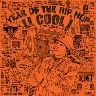 "K-Def ft. LL Cool J – ""Year of the Hip-Hop"" (previously unreleased, 1994)"