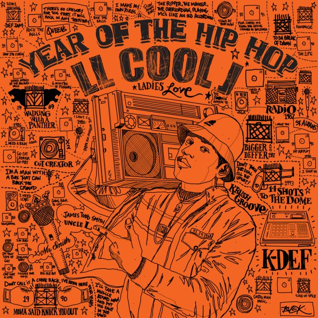 """K-Def ft. LL Cool J – """"Year of the Hip-Hop"""" (previously unreleased, 1994)"""