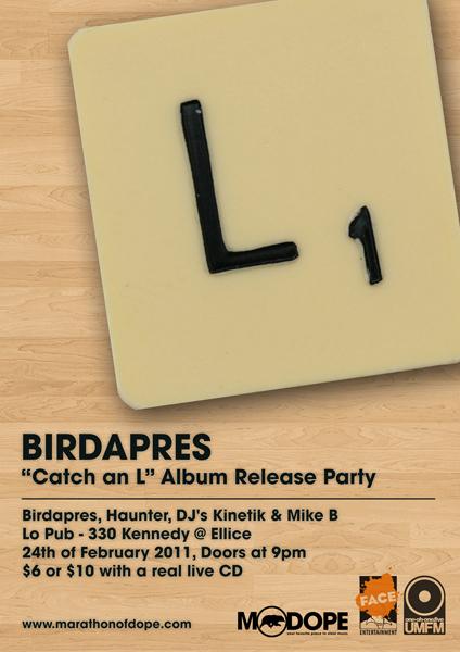 "Birdapres - ""Bikes"" ft. Pip Skid & Speed Dial 7"