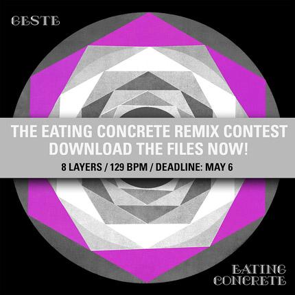 "Equinox Records: Geste ""Eating Concrete"" Remix Contest"