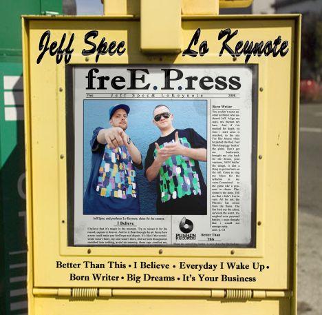 Jeff Spec & Lokeynote - Free PressEP