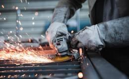 trabajador industria accidente siniestralidad