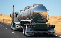Camión transporte Mercancíass