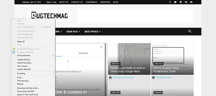 Create website shortcut on desktop internet explorer