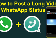 longer videos on your WhatsApp status