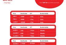 Airtel Uganda Data OTT Bundles