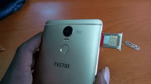 How to Insert SIM Card in Tecno Spark 2 and Tecno Spark3