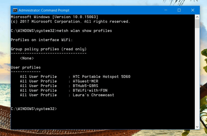 Hack WiFi Password On A laptop
