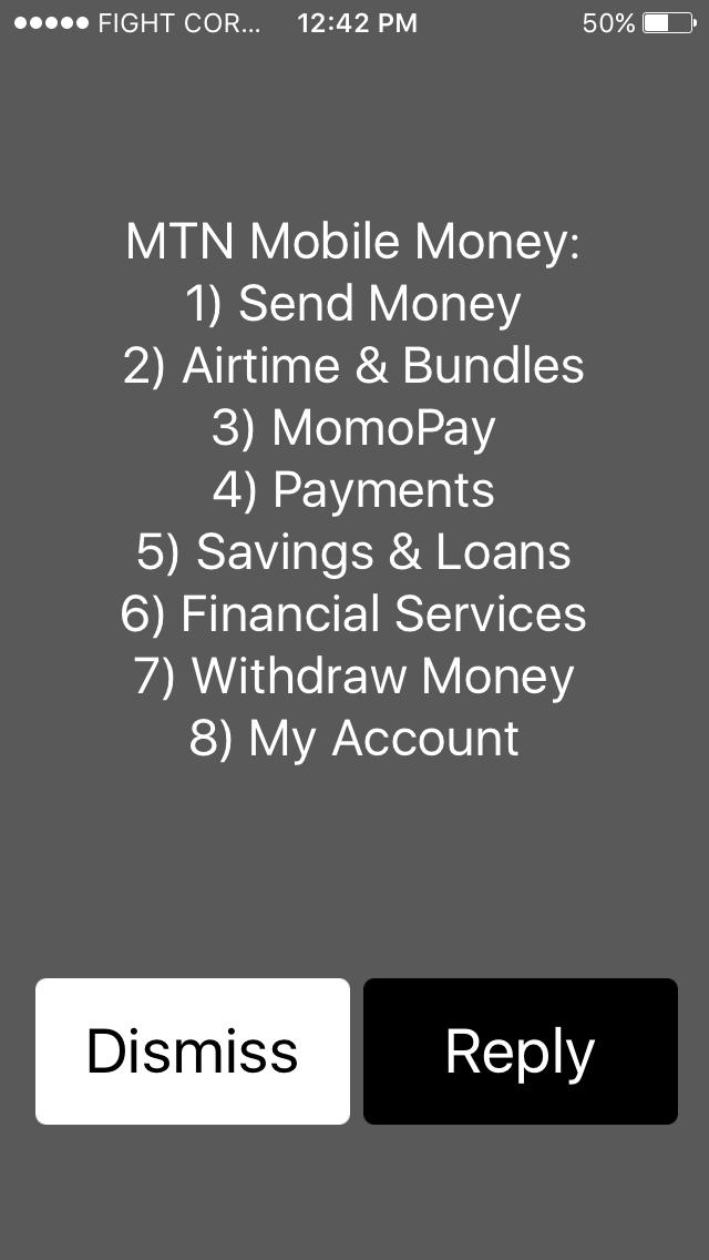 MTN mobile money M-Pesa