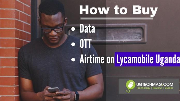 Buy airtime on Lycamobile Uganda