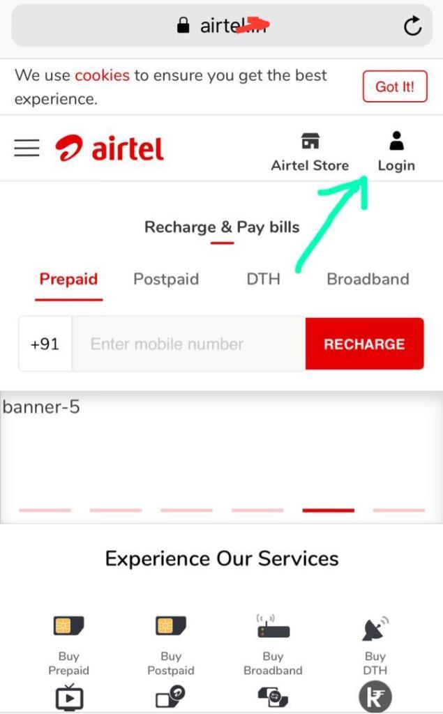 "Check your data balance under ""Account Overview"" (Check data balance airtel uganda)"