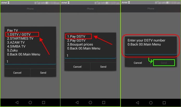 How to pay for DSTV using Airtel Money Uganda 1