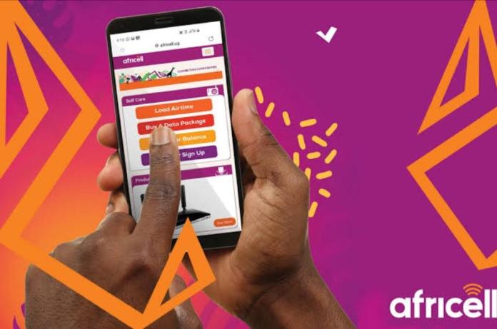 how to buy africell data and airtime on mtn