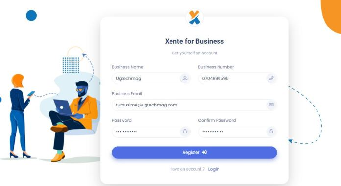 How to register your small business in Uganda for Xente