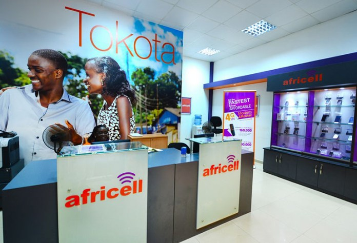 Africell telecom shop outlets in Uganda