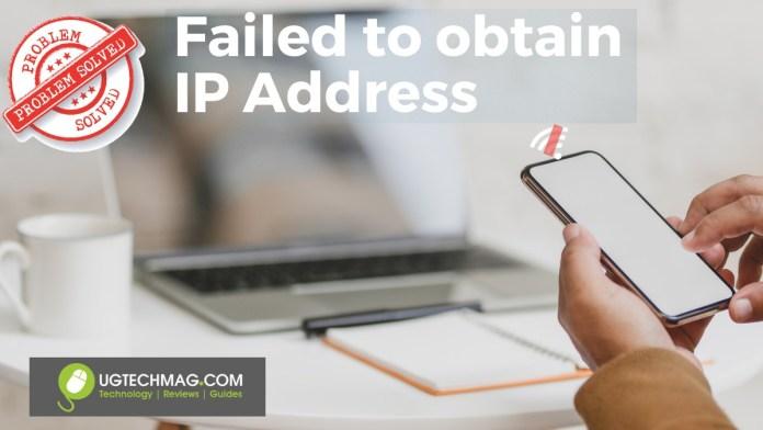 Failed to Obtain IP Address Windows mobile hotspot solved - ugtechmag.com