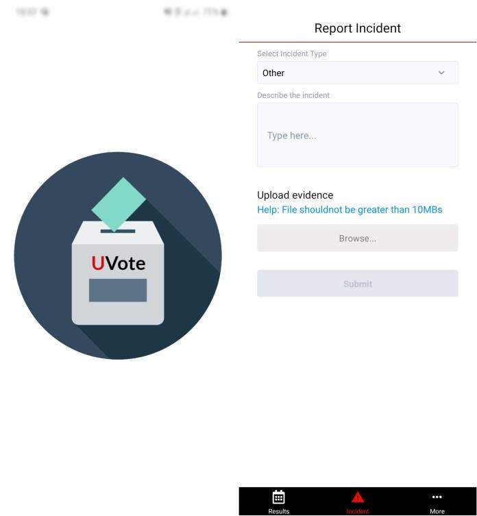 NUP Uvote app Uganda elections application - ugtechmag.com