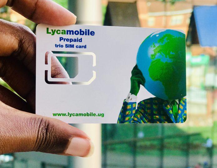 Lycamobile Uganda Internet settings