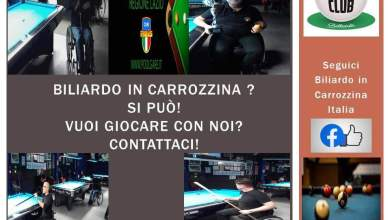 Photo of BILIARDO IN CARROZINA? SIPUO'!