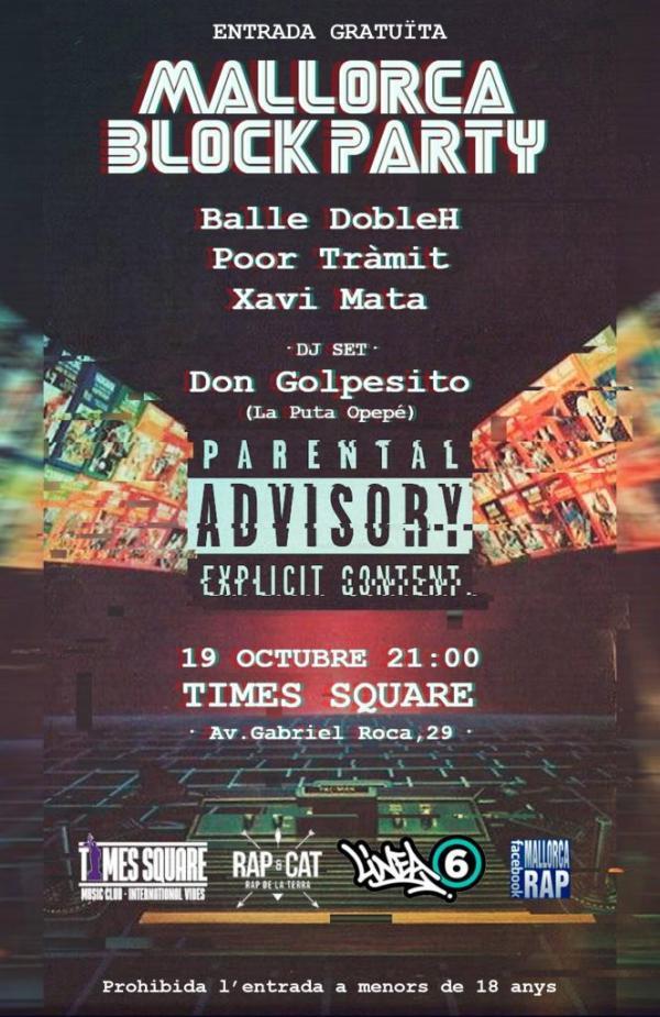 Balle Doble H, Xavier Mata, Poor Tràmit y la música de DJs ...