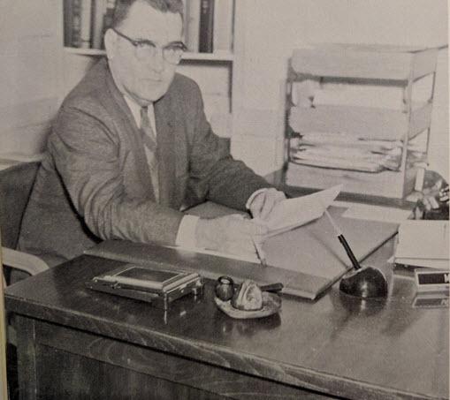 O'Kane in 1958