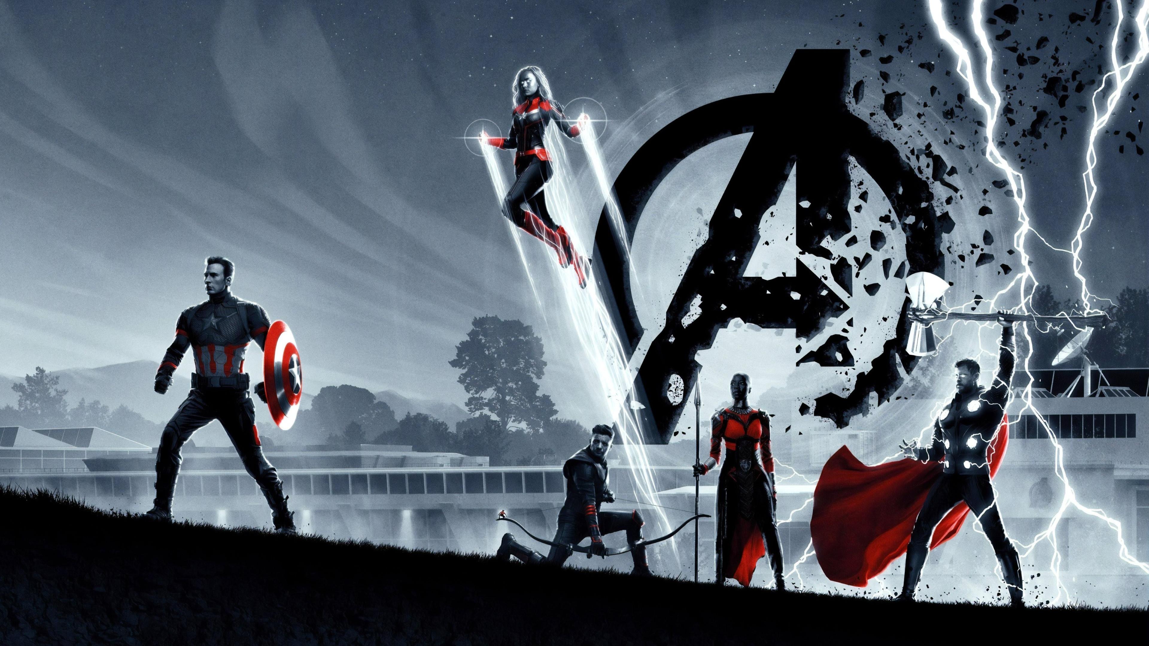 Download Wallpaper Avengers Endgame Poster 3840x2160