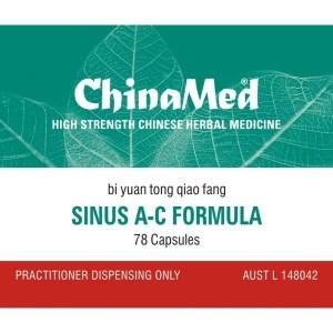 Bi Yuan Tong Qiao Fang, Sinus A – C Formula