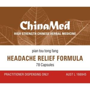 Pian Tou Tong Fang, Headache Relief Formula