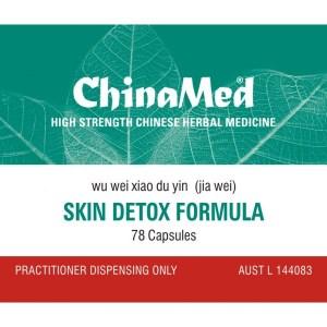 Wu Wei Xiao Du Yin Jia Wei, Skin Detox Formula