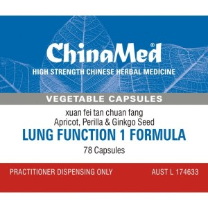 Xuan Fei Tan Chuan Fang, Lung Function 1 Formula