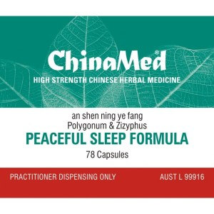 An Shen Ning Ye Fang, Peaceful Sleep Formula
