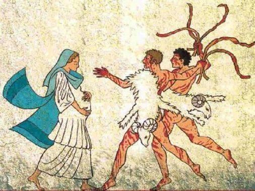 La flagellation des femmes.