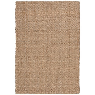 Three Posts - Rodgers Light Brown Jute Area Rug