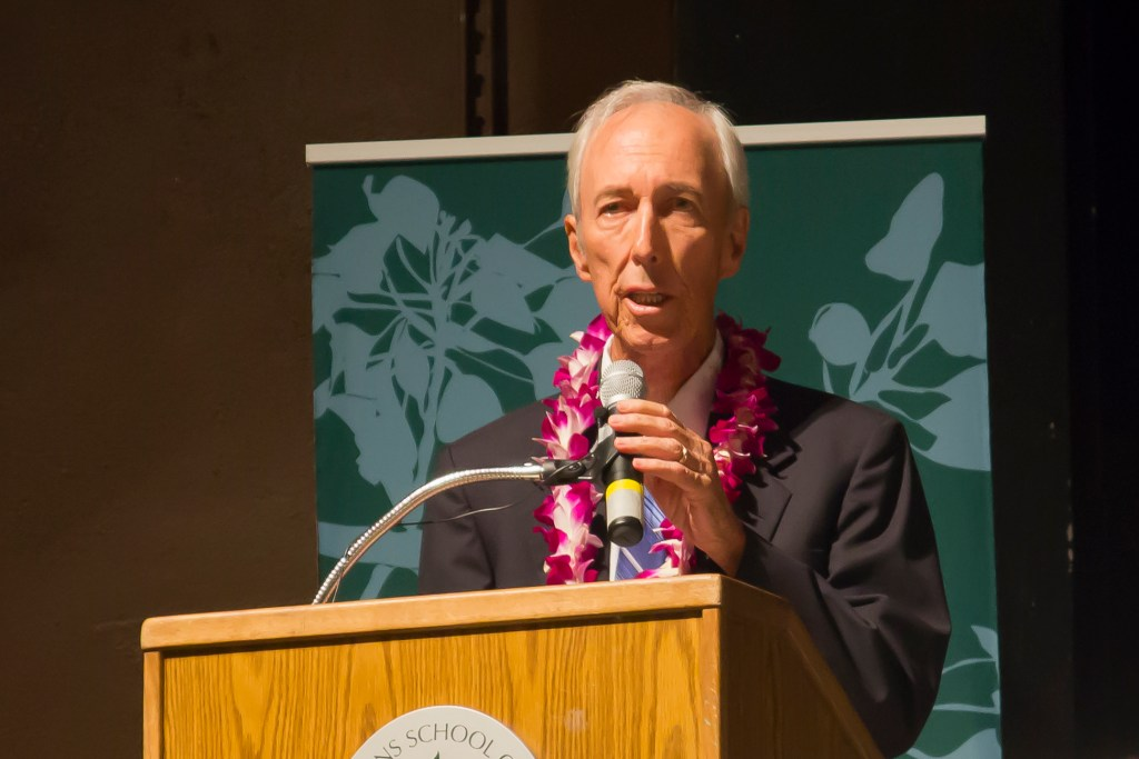James S. Burns mourned at the University of Hawaii medical school, where he was a living reminder of his father's commitment to higher education