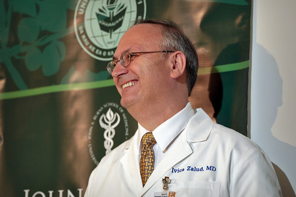 "Department of OB-GYN: Chair Ivica Zalud, MD, named 2017 ""Physician of the Year"""