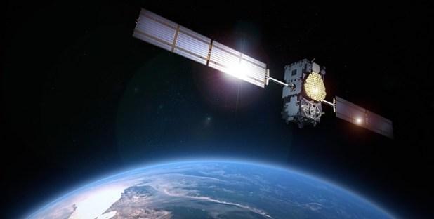 gps satellit erde