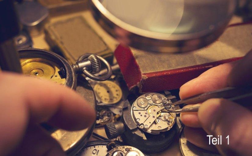 Alter von Taschenuhren bestimmen – Teil 1
