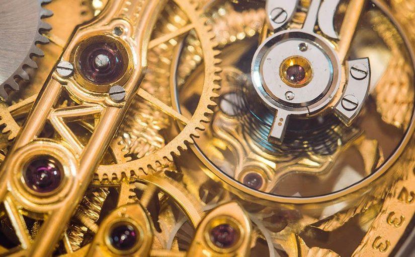 Skelett Taschenuhren – die Technik im Fokus