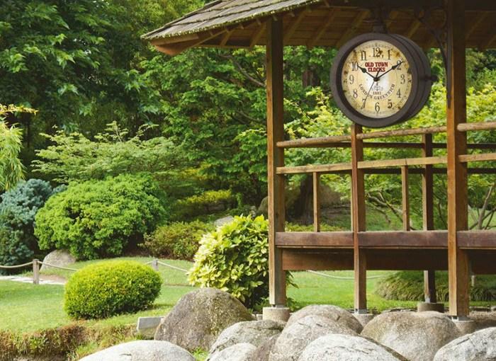 Aussenuhren – Die Uhrzeit im Blick auch im grünen Bereich