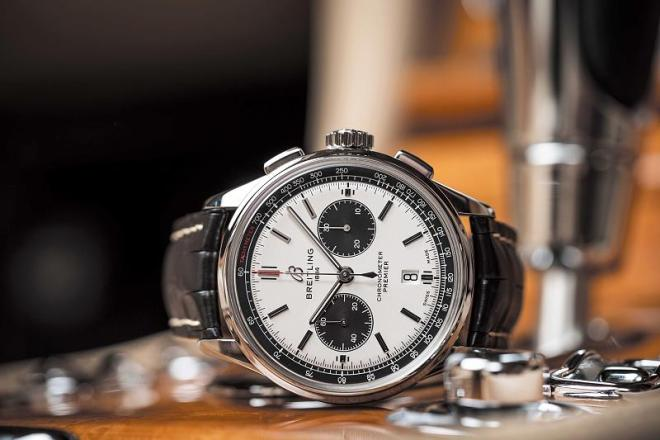 breitling-premier-b01-chronograph-42-with-silver-dial-and-black-alligator-leather-strap