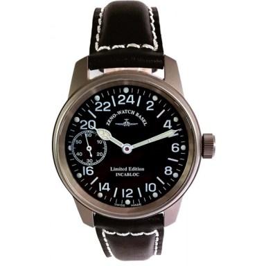 Specialty - ZENO-WATCH Basel Pilot Classic Titan Handaufzug