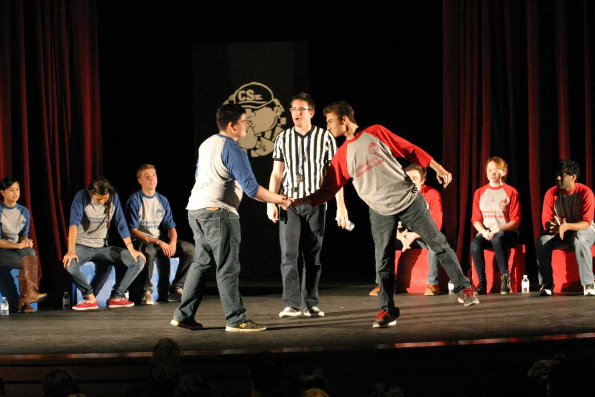 January Comedy Sportz vs. Irvine High School