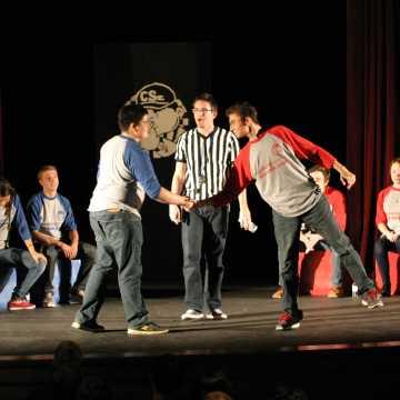 January Comedy Sportz vs. Irvine High School