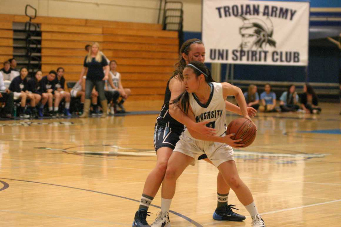 UHS girls basketball team defeats CDM at Pack the Gym Night